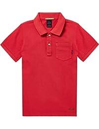 Scotch & Soda Jungen Poloshirt Regular Fit Garment Dyed Polo