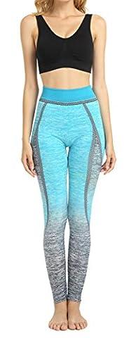 DD.UP Damen Sport Leggings Super Elastic Fitness Tights Running Yoga Pants