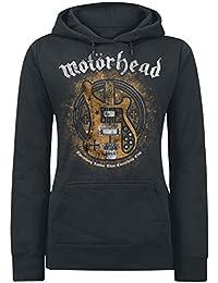 Motörhead Bass Guitar Sweat capuche Femme noir