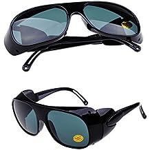 Nadalan Gris Gafas de soldar / Gafas de trabajo / Gafas de protección / Gafas planas / Gafas antichoque / Gafas de protección láser