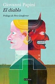 El Diablo: Prólogo de Pere Gimferrer par  Giovanni Papini