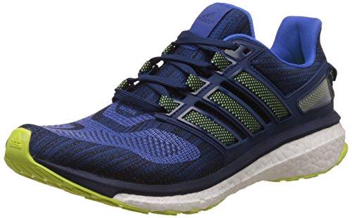 adidas Energy Boost 3, Zapatillas de Running para Hombre, Azul (Bluesolar Yellowmystery Blue), 41 1/3 EU