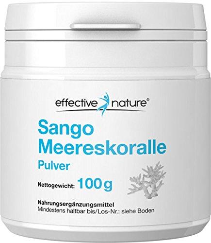 Sango Meereskoralle Pulver 100% Original - Optimales Calcium Magnesium Verhältnis - 100 g