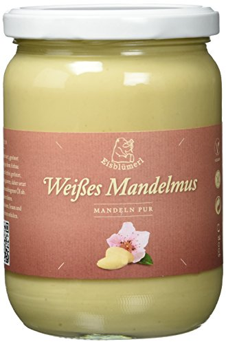 Eisblümerl Bio Weißes Mandelmus, extra fein, 1er Pack (1 x 500 g)