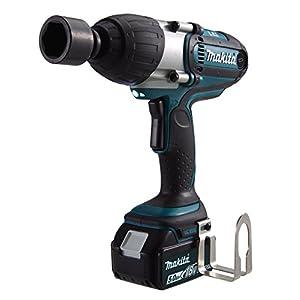 Makita DTW450RMJ Herramienta, 180 W, 18 V, Negro, Azul, con 2x Batería 4,0 Ah
