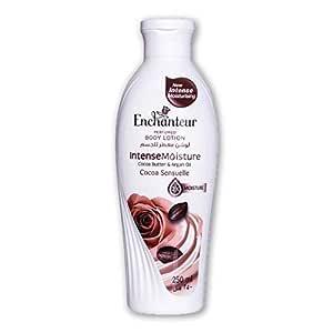 Enchanteur Cocoa Sensuelle Perfumed Body Lotion, 250ml, with Cocoa Butter & Argan Oil for Intense Moisture