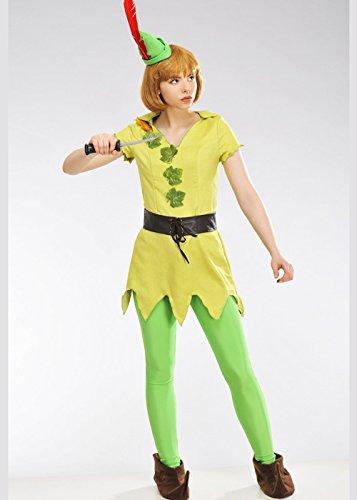 sney Peter Pan Kostüm Small (UK 8-10) (Peter Pan Disney Erwachsene Kostüme)