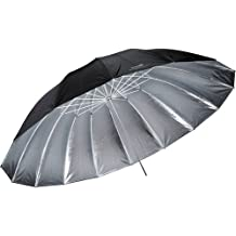 Impacto 7'paraguas Parabólico (Plata)