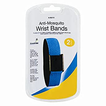 Stalwart A-00210-W Anti-Mosquito Wrist Bands (Pack of 2)