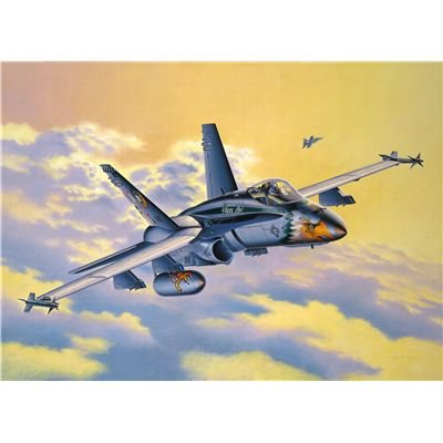 04303 1/72 F/A-18C Hornet US Navy Anniversary Edition by Revell