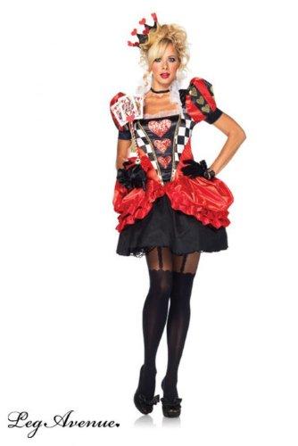 Leg Avenue Evel Red Queen Kostüm M, 1 Stück