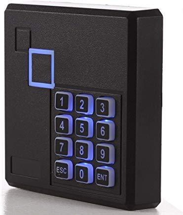 uhppote Proximity RFID ID Karte Tür Access Control Tastatur Reader 125kHz Wiegand 26Bit Farbe schwarz -