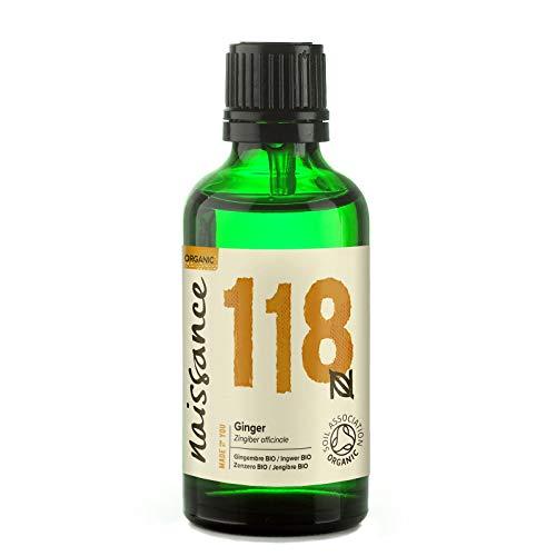 Naissance Ingwer 50ml Öl BIO zertifiziert 100{87ea9a74bac661696ed6d43c6666abae58a6f80dc1ad7d9285c48df4546ea092} naturreines ätherisches Öl