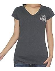 MLB Colorado Rockies femmes T-Shirt with Rhiestones (Vintage Look)