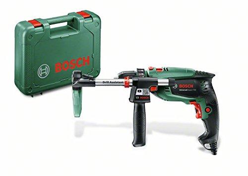 Bosch Schlagbohrmaschine UniversalImpact 700 DA (Bohrassistent, Zusatzhandgriff, Tiefenanschlag, Koffer, 700 Watt)