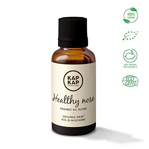 Bio Ätherische Öle Mischung für Gesundheit der Nase - Reines Duftöl, Badeöl - Aromatherapie für Kinder - Mischung Bio-aromatherapie-Ätherische Öl