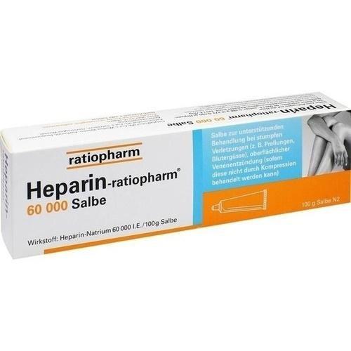 Heparin-ratiopharm® 60 000 Salbe