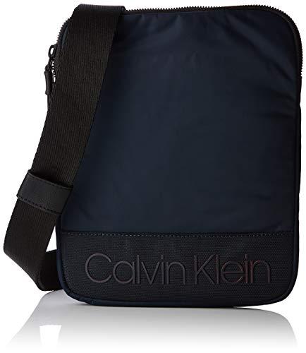 Calvin Klein Herren Shadow Flat Crossover Schultertasche, Schwarz (Navy), 2x26x21 cm