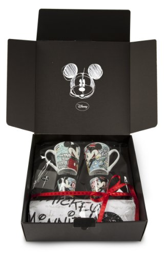 Disney WMSET/5 Mickey Mouse Set 2 Bicchieri