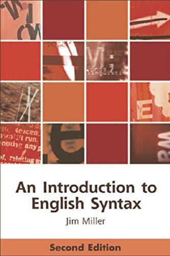 Introduction to English Syntax (Edinburgh Textbooks on the English Language)