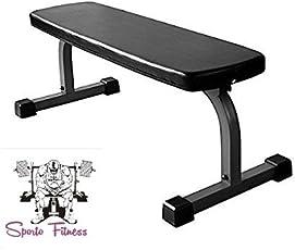 SPORTO FITNESS™ Heavy Duty STANDERD Curved Flat bench MODEL:1220