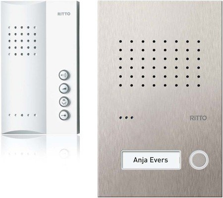 Ritto Acero pur 1 WE RGE1818325 Intercom Audio Set