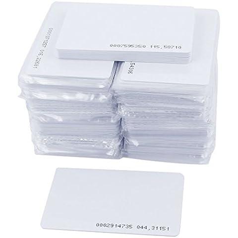 Badge identificativi di accesso (150 pezzi) EM4100 125kHz RFID