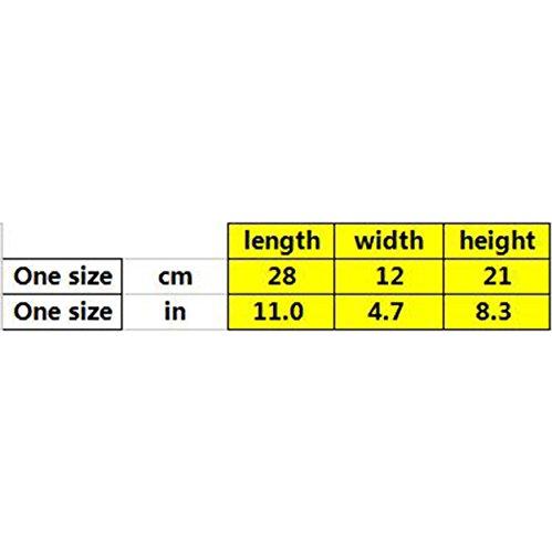 WU Zhi Damen PU kleine Quadratische Tasche Umhängetasche Bronze