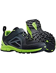 NORTHWAVE ESCAPE EVO senderismo Zapatos de bicicletas de montaña, negro-verde, schuhgröße:gr. 45