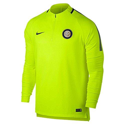 Nike 2017-2018 Inter Milan Drill Training Top (Volt)