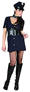 Reír Y Confeti - Fibpol002 - Para adultos traje - Mujer policía Traje - Mujer - Talla M