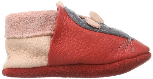 Pololo Minni Berry/Rosa, Chaussons fille Rouge (Rouge-TR-H4-187)