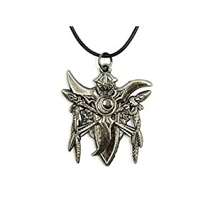 World of Warcraft Kette mit Wappen der Nachtelfen