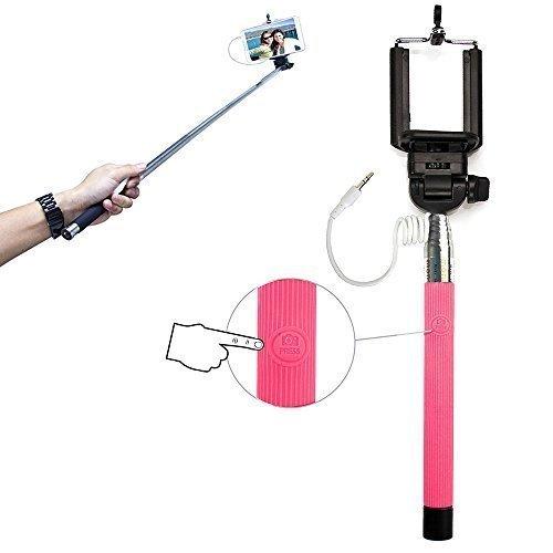 Xtra-Funky Esclusivo pulsante universale gestito bastone Selfie monopiede con morsetto
