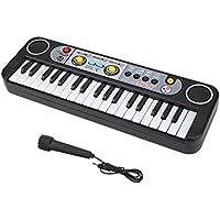 VGEBY1 Teclado Piano eléctrico, 37 Teclas ABS Plástico Eléctrico Piano Digital para Piano para niños