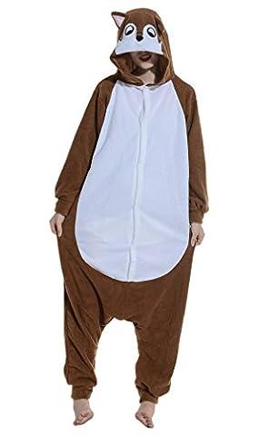 Costume Rat - YUWELL Unisexe Kigurumi Costume Anime Animal Cosplay