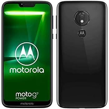0f974e149 motorola moto g7 Power 6.2-Inch Android 9.0 Pie UK Sim-Free Smartphone with  4GB RAM and 64GB Storage (Single Sim) – Black
