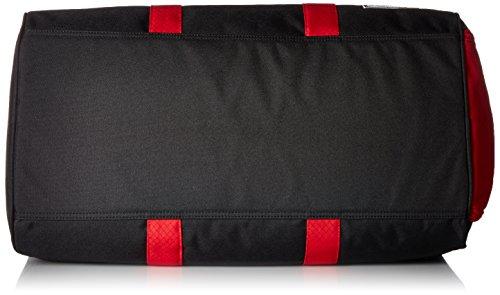 Herschel  10026, Borsone  Adulti, Navy/ Tan PU (Blu) - 10026-00007-OS black/scarlet