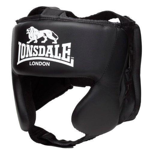 Lonsdale-London-Boxen-Boxer-Kopfschutz-schwarz