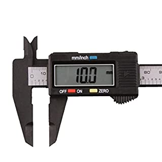 HUHU833 150mm/6inch LCD Digital Electronic Carbon Fiber Vernier Caliper Gauge Micrometer