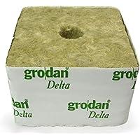 Cubo de lana de roca Grodan Delta 100mm–25/15