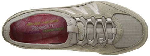 Skechers Breathe Easy Moneybags, Baskets Basses Femme Beige (Tpe)