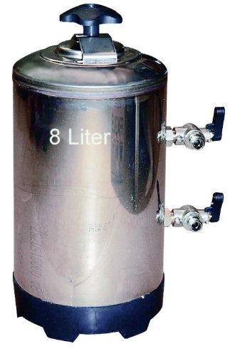 Wasserenthärter Entkalker 8 Liter - für Espressomaschine (Bsp. Rancilio), Geschirrspülmaschine, Aquarium (Teile Wasserenthärter)