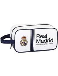 Safta 811654682 Real Madrid Zapatillero, Color Blanco