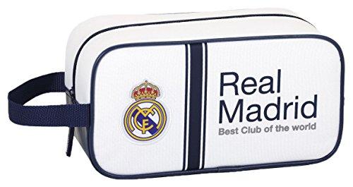 Real Madrid – Zapatillero Mediano 29 cm, 1ª equipacion Temporada 2016/2017 (SAFTA 811654682)