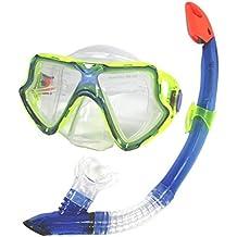 Schnorchel Taucherset 32 33 Schwimmflossen Schwimmbrille Schnorchen NEU Kinderbadespaß
