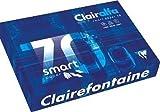 CLAIREFONTAINE Ramette 500 Feuilles Smart 70g A3 420x297 mm Certifié FSC Blanc
