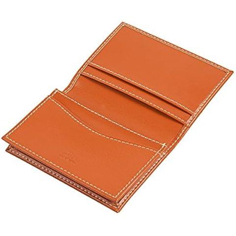Grandluxe Arancione Pelle PU Multi nome Card Holder