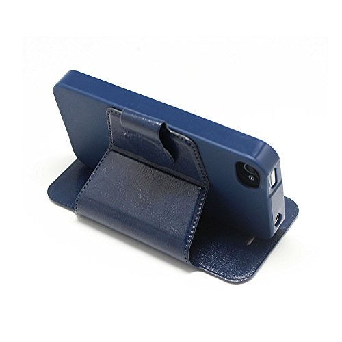 APPLE IPHONE 4 4S SILICONE GEL SKIN CASE COVER+FREE STYLUS (MULTI DOG CAT PAW FOOT) VW BLUE GEL BOOK