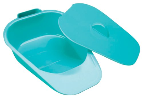 NRS Healthcare Slipper Bed Pan with Lid – Adult